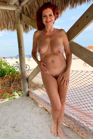 Mom Beach Porn
